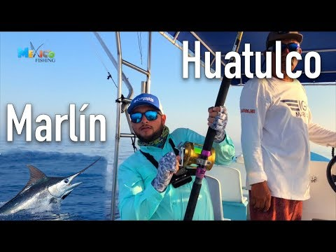 PESCA De MARLIN Huatulco, Mexico / FISHING OFFSHORE MARLIN