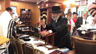 First day of summer 2018 at the woodbourne Shul