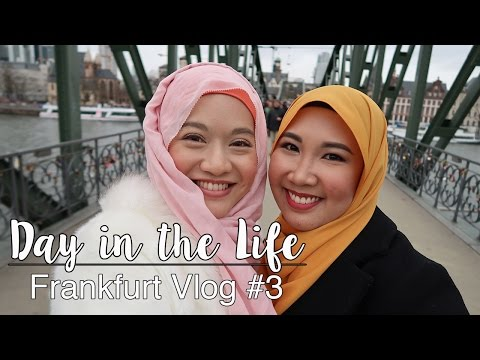 Day in the Life in Frankfurt #3 | Vlog | #albukharidcruz