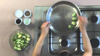 Maple Glazed Brussel Sprouts Recipe