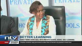 Family Bank partners with private schools on e-learning