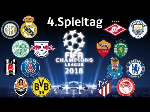 FIFA Champions League 2018 | Gruppenphase | A-D | 4.Spieltag | MarcSarpei