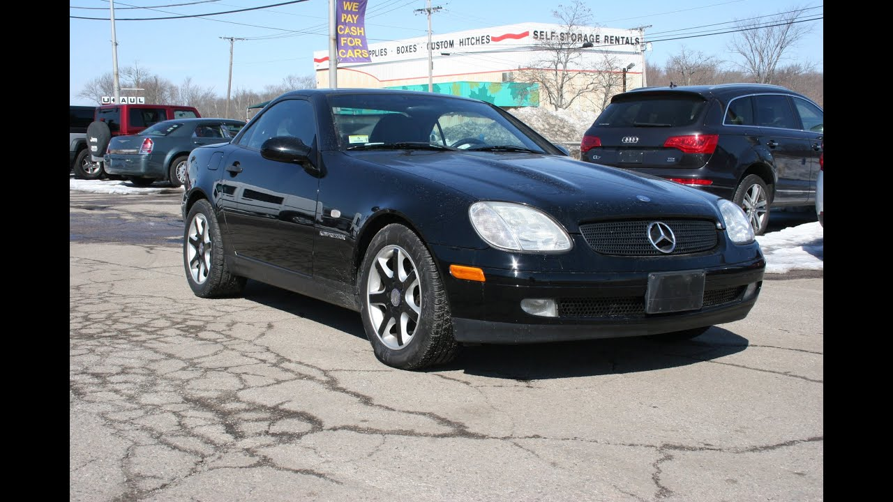 2000 Mercedes Slk230 Kompressor Review And Test Drive