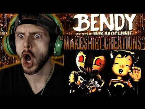 "Vapor Reacts #756 | [SFM] BATIM ORIGINAL SONG ""Makeshift Creations"" by Flint 4K REACTION!!"