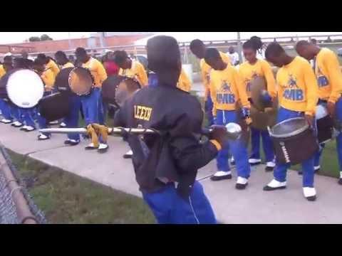 Miami Northwestern marching in vs Raines 2014-2015