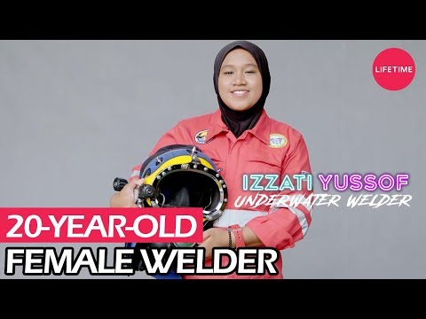 #6 Underwater Welder | I AM WOMAN | Lifetime