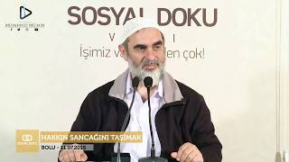 HADİSLERLE BİZİ OYALIYORSUN DİYEN GENÇ! | Nureddin Yıldız