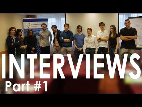 Interviews with the Youth Platform Project leaders: UTalent, Talented Youth Survey, Blog Projects