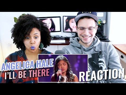 Angelica Hale - I'll Be There | Little Big Shots | REACTION