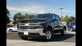 2019 Chevy Silverado 1500 LT Review - Start Up, Revs, and Walk Around