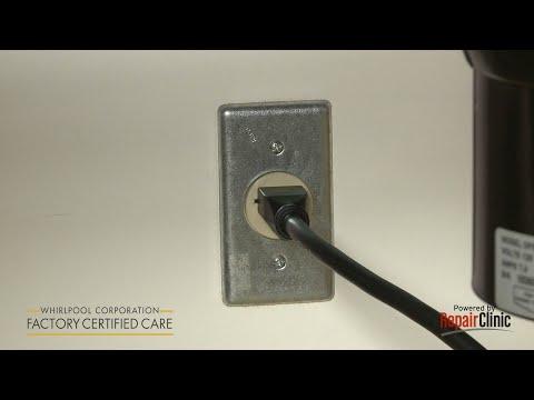 Power Cord - Whirlpool Dishwasher #WDF510PAYS6