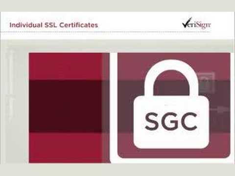 VeriSign SSL Certificates - YouTube