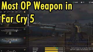 Most OP Weapon in Far Cry 5  - The M60 LMG - xBeau Gaming