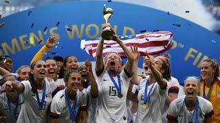 Mondial-2019 : Les Américaines championnes du monde de football pour la quatrième fois (2-0)