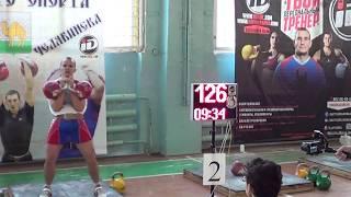 Квашнин Михаил в Челябинске.  Чемпионат по гиревому спорту 2017