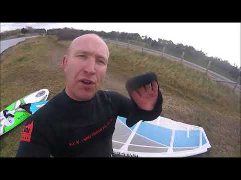 Ianovated palmless mitts (first run out) review - Windsurfing UK Magazine