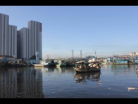 Fishery Port of Muara Angke Jakarta