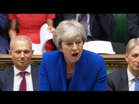 Prime Minister's Questions: 20 June 2018