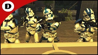 FIVES DEFENDS HYDRO DAM FROM GENERAL GRIEVOUS - Men of War: Star Wars Mod