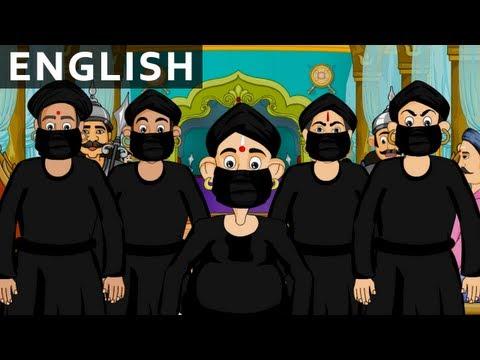 The Black Cloak - Tales of Tenali Raman - Animated/Cartoon Stories For Kids