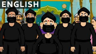 The Black Cloak - Tales of Tenali Raman - Animated/Cartoon Stories For Kids