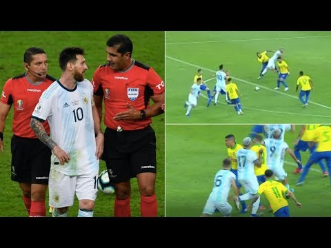 Were Argentina robbed against Brazil in their Copa América 2019 Semi-Final?