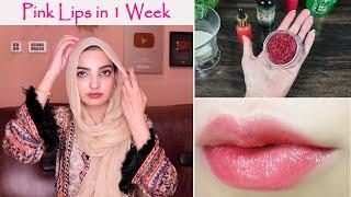 Get Soft Pink Lips Permanently Lighten Dark Lips in a Week Naturally
