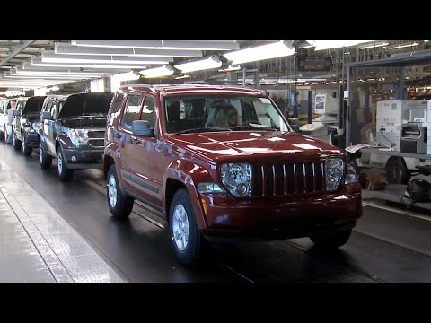 Jeep Liberty production at the Toledo North Assembly Plant, Ohio