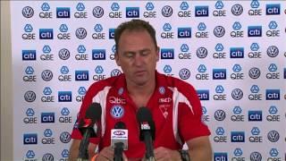 SwansTV: John Longmire post-match R2 2014