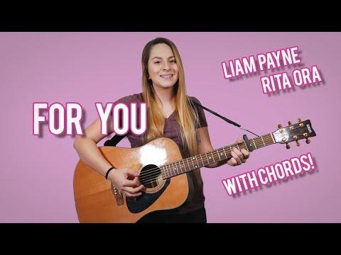 For You Guitar Tutorial | Liam Payne Rita Ora || WITH CHORDS!