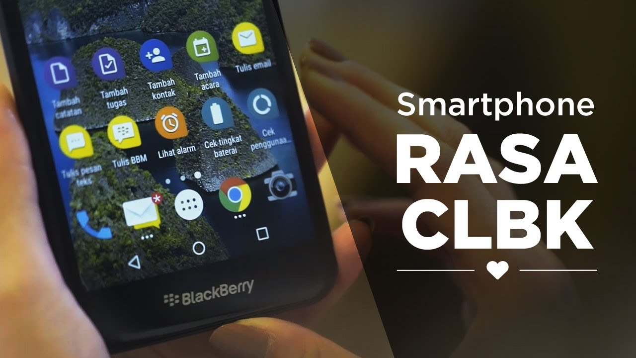 Blackberry Aurora Blackberry Rasa Android Youtube