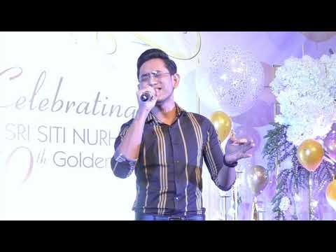 Khai Bahar Nyanyi WAJAH KEKASIH versi Lelaki di #SitiGolden40th