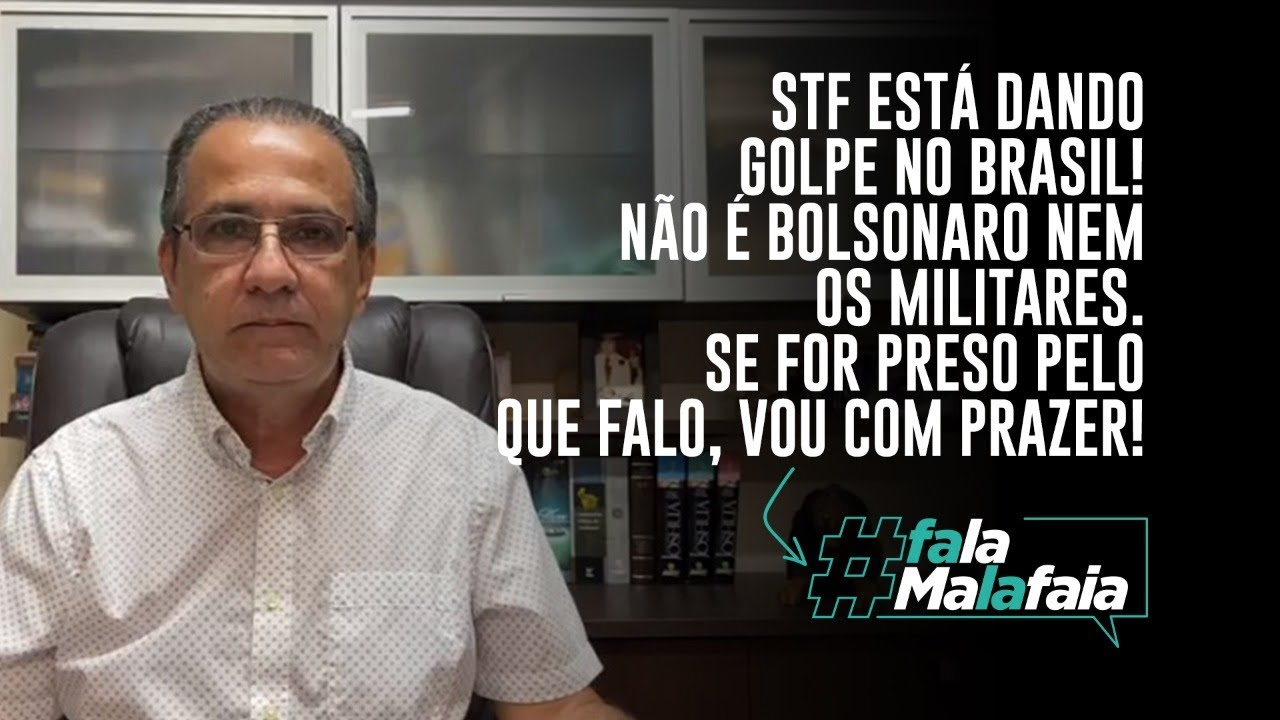 STF ESTÁ DANDO GOLPE NO BRASIL! NÃO É BOLSONARO NEM OS MILITARES ...