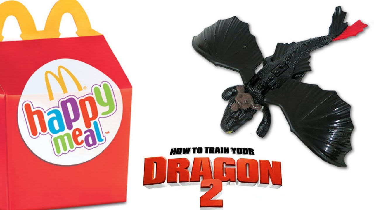 Happy Meal How To Train Your Dragon 2 Mcdonald S Toys Youtube