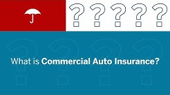 What is Commercial Auto Insurance?