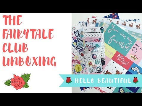 The Fairytale Club Unboxing : Hello Beautiful Collection