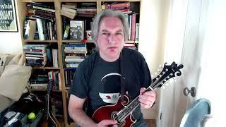 Moll Roe (slig jig) on mandolin