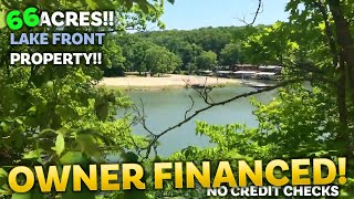 $500 down - 66 acres with 150' lake frontage on Lake Of The Ozarks! - ID#PC38