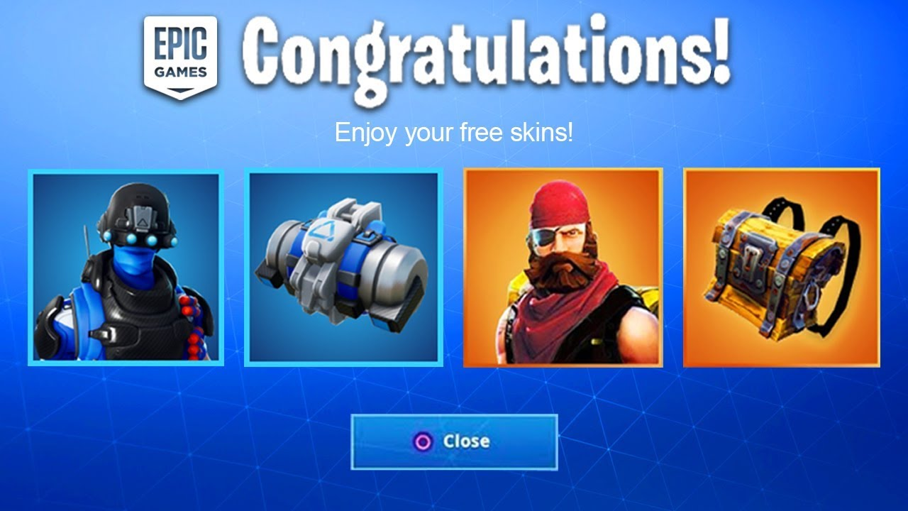 How to get free skins in fortnite ps4 2019