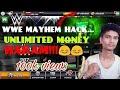 How to hack wwe mayhem in android | unlimited money in wwe mayhem | tech by vineet