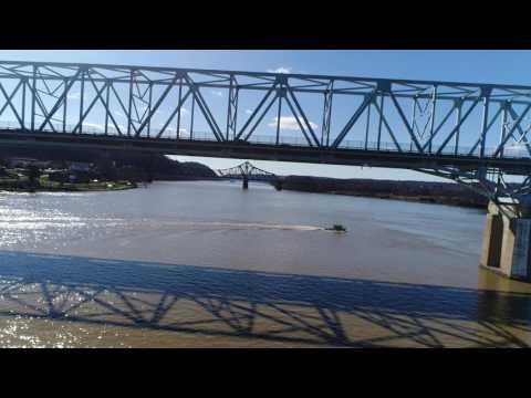 PGH River Rescue at the Ohio River Search 3/4/2017