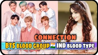 🇮🇳Let's match your Blood group with BTS blood type | BTS blood groups and it's meaning| Asianimpact