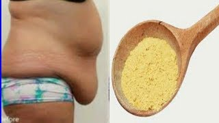 ONLY 1 TABLE SPOON A NIGHT REMOVE BELLY FAT FAST NO EXERCISE NO DIET
