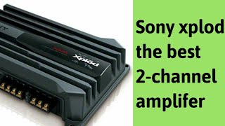 sony XM-N502 Amplifier unboxing