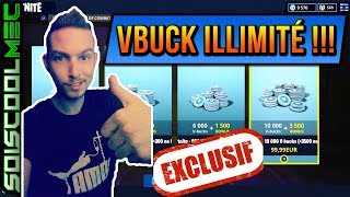 Excluded! HOW TO BE VBUCK IN ILLIMITÉ! FAST - EASY! TOP TIP! FORTNITE BATTLE ROYAL!