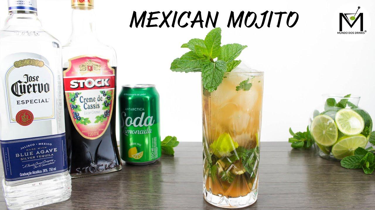 COMO FAZER O MEXICAN MOJITO