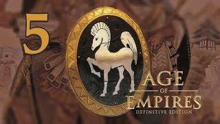 Прохождение Age of Empires Definitive Edition 5 - Акрополь Слава Греции