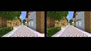 Как смотреть без очков - Minecraft 3D
