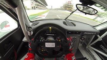 Porsche 911 GT3 Cup - Onboard Helmet Cam - Circuit de Barcelona/Catalunya - Alexandre Jouannem