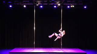 2018 US Pole Dance Championship Novice Level 1 Sexy Division - MoxieLynne